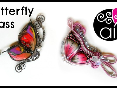 Craft Corner Special | Butterfly Class | Corso Paste Polimeriche Wire e Soutache | RM 15 Marzo