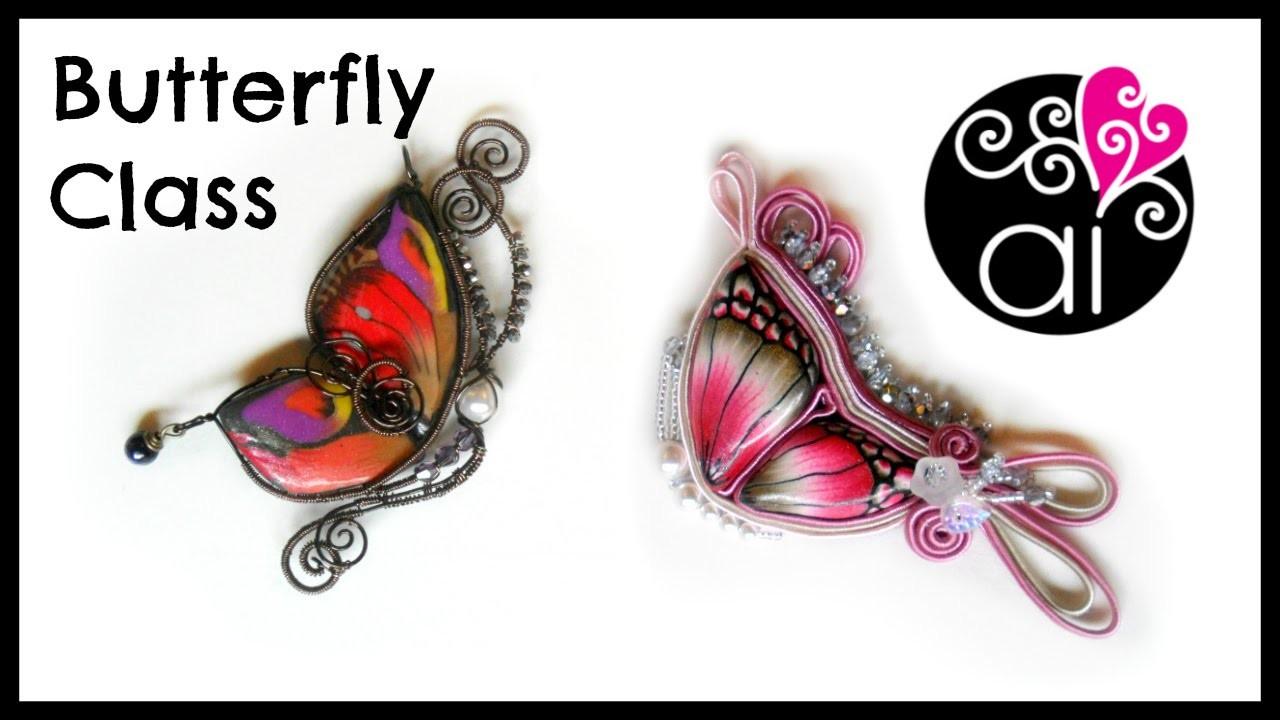 Craft Corner Special | Butterfly Class | Corso Paste Polimeriche Wire e Soutache | RM 15 Marzo