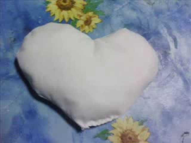Crochet  cuore azzurro a uncinetto