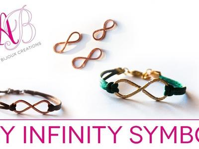 DIY Infinity Bracelet Symbol - Wire Wrapping tutorial - Infinity tutorial bijoux