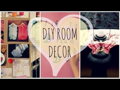 DIY ROOM DECOR ✄ | Elena Mood
