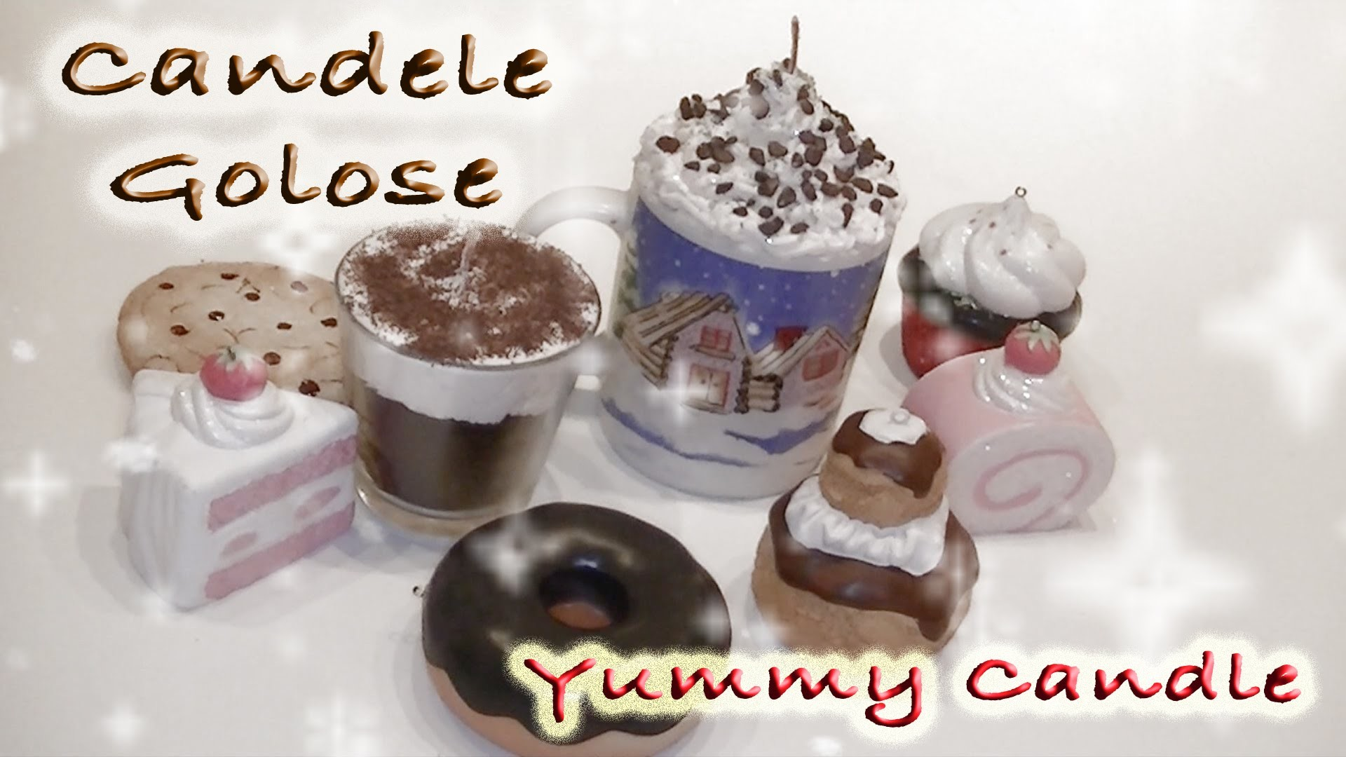 DIY Tutorial Candele Golose - Yummy Candle How To