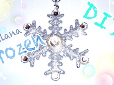 DIY Tutorial Collana Frozen - Frozen Necklace