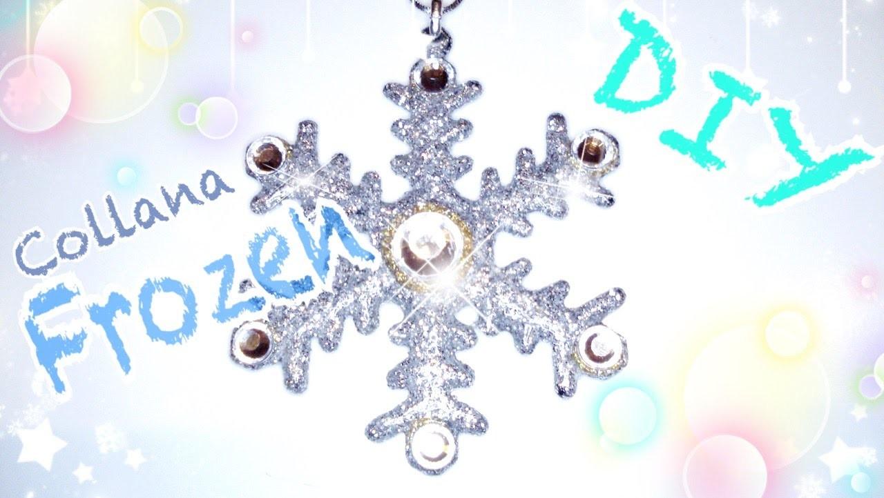 DIY Tutorial Collana Frozen - Frozen Necklace