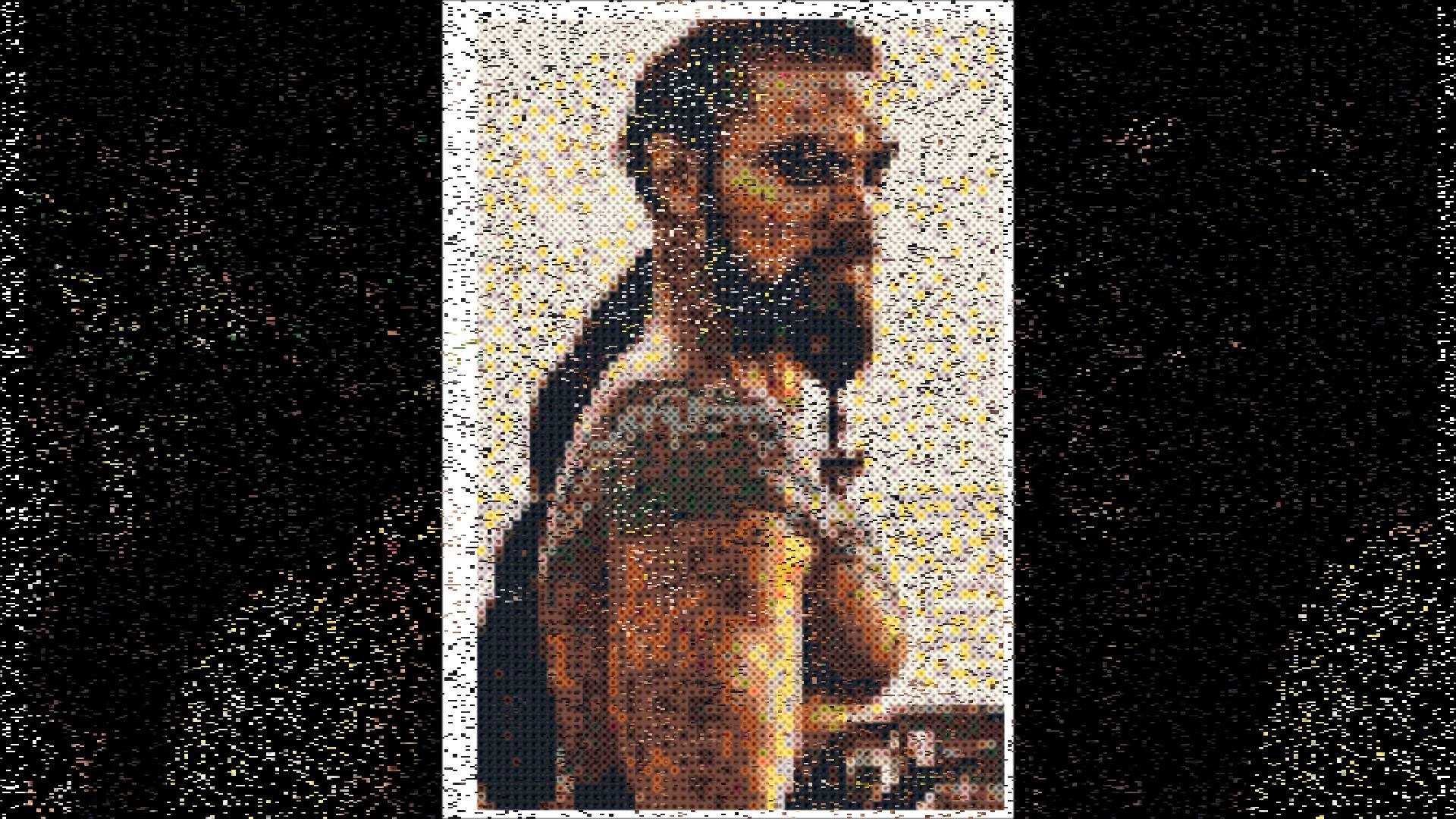 Hama Beads Creations Portraits