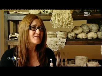 Lana d'Abruzzo e Social Crochet a Geo&GEO