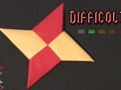 [ORIGAMI ITA] Stella Ninja (Shuriken) || Origami Modulari.Per Bambini (E Non Solo!)