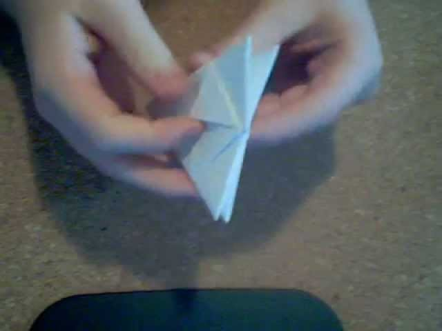 Origami scatola a 8 punte baricca