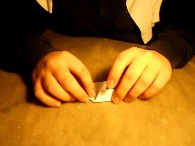 Origami: stella di natale (difficile)
