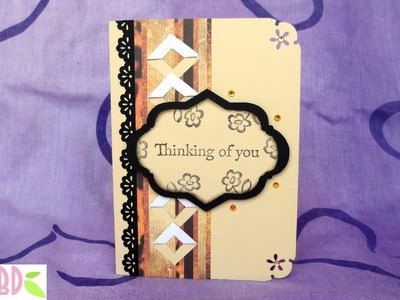 Scrapbooking Tutorial: card Maschile - Masculine Card