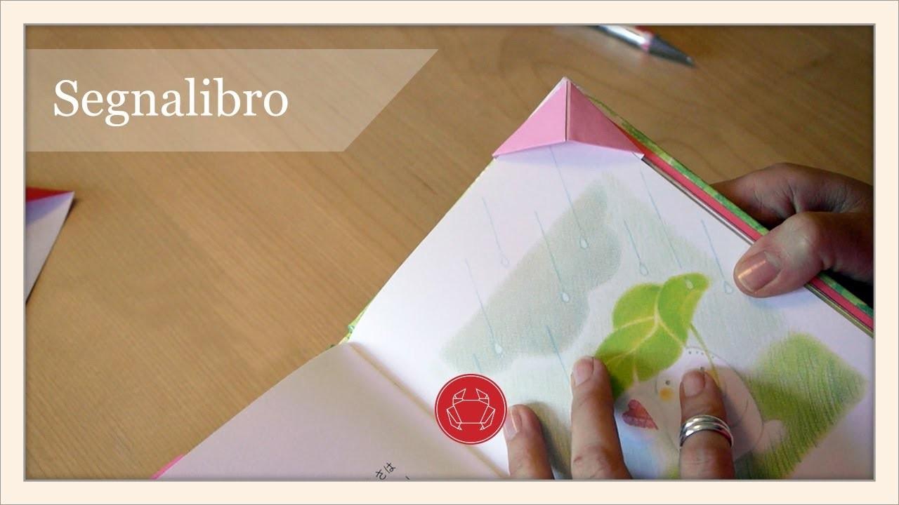 Segnalibro origami