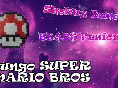 Shokky Bandz Beads Fusion || Tutorial FUNGO SUPER MARIO BROS