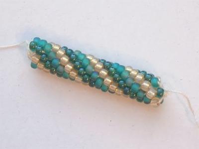 Spirale Crochet con perline: quale filo utilizzare e tutorial inglese