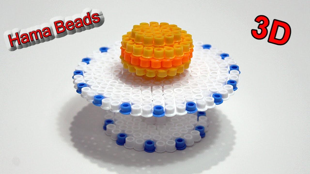 Tavolo.Alzatina per Dolci con Hama Beads.Table Perler Beads