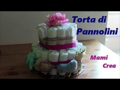 Torta di Pannolini: Fiore! -facile DIY Tutorial