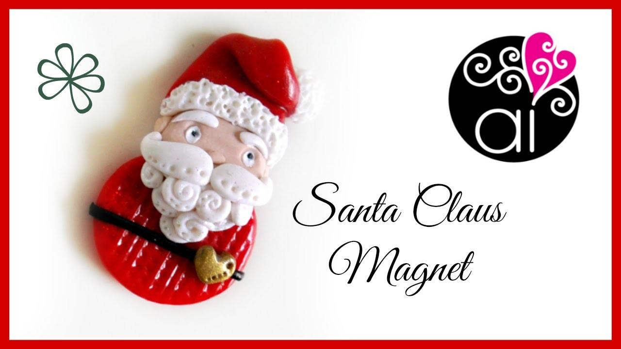 Tutorial Babbo Natale | Polymer Clay | DIY Santa Claus | Merry Christmas