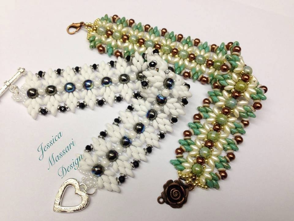 "Tutorial Bracciale Superduo ""Butterfly effect"" - Superduo Beads Bracelet"""