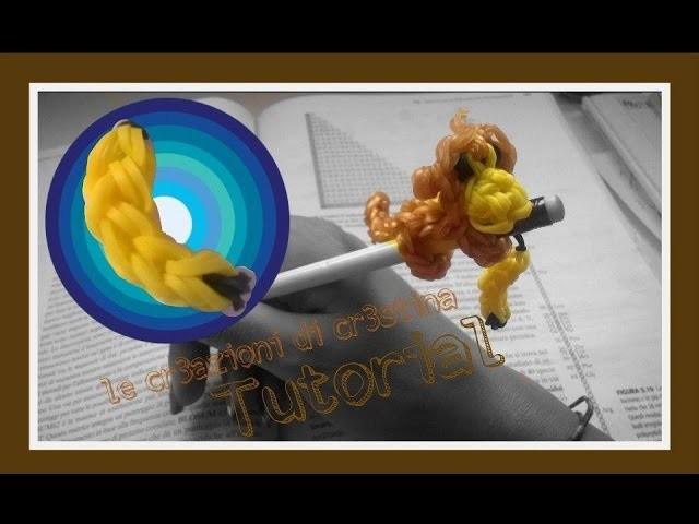 Tutorial Charm Banana con Elastici RAINBOW LOOM - DIY
