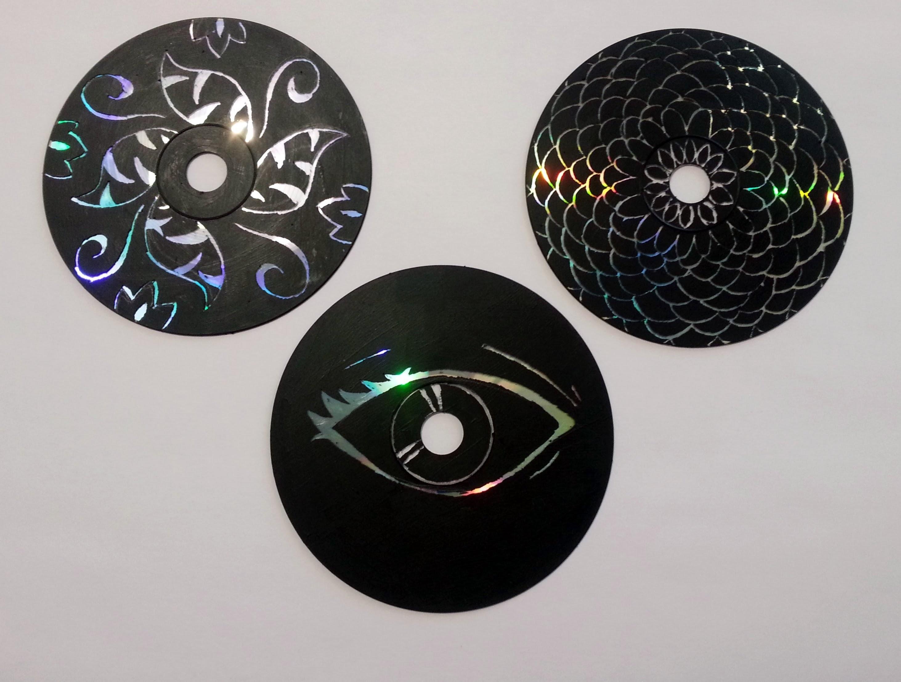 TUTORIAL: come fare opere d'ARTE SU CD (-rIcIcLo-DiY-)