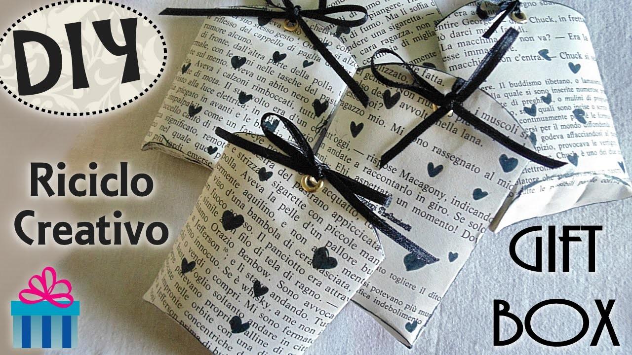 Tutorial: Creare Scatoline con i Rotoli della Carta Igienica |Riciclo Creativo| DIY Vintage Gift Box