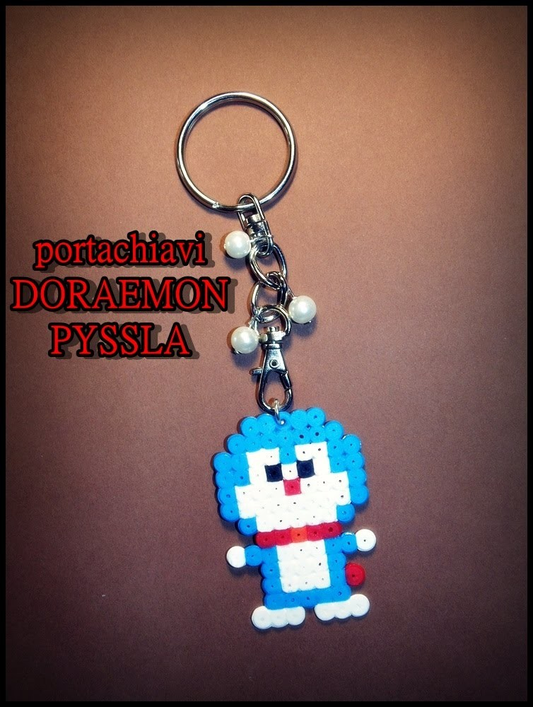 Tutorial Doraemon hama beads pyssla