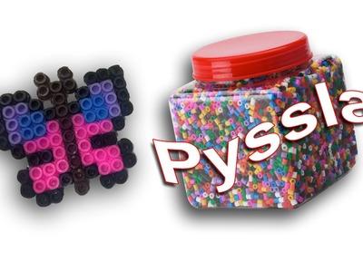 Tutorial Farfalla con Pyssla.Hama Beads