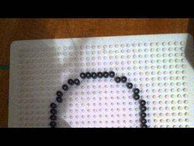 Tutorial Funghetto pyssla o hama beads.  :)