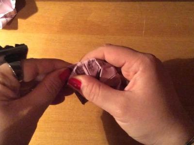 Tutorial Origami Ninfea - Progetto MilanoFree DIY