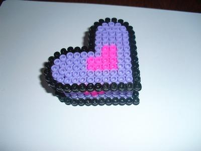 Tutorial scatola cuore con Hama Beads