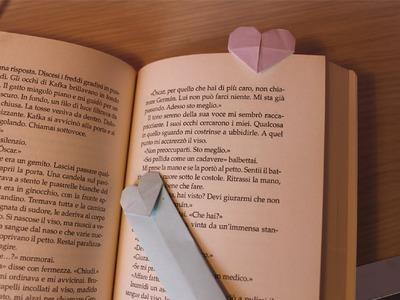 Tutorial Segnalibro Origami - Origami Bookmark