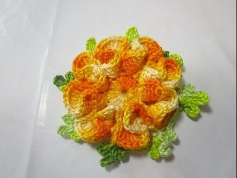 Uncinetto Crochet Tutorial Fiore Sofia