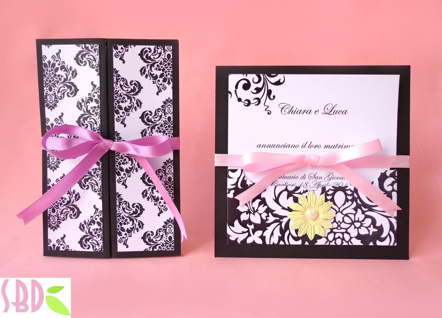 Wedding Series: partecipazioni nozze Elegance - Wedding invitation
