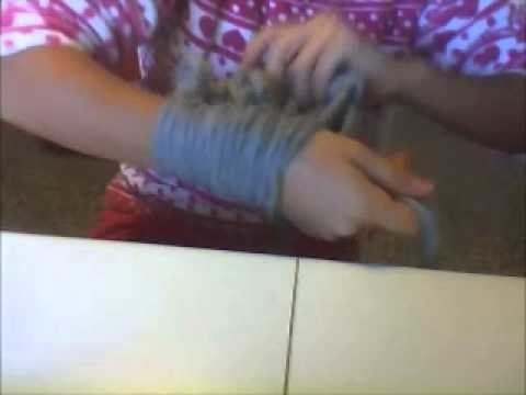 Arm knitting 2
