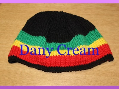 Cappello ai ferri principianti - Easy knitting hat