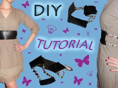 Come Fare una Cintura a fascia con un Portafoglio - Tutorial DIY