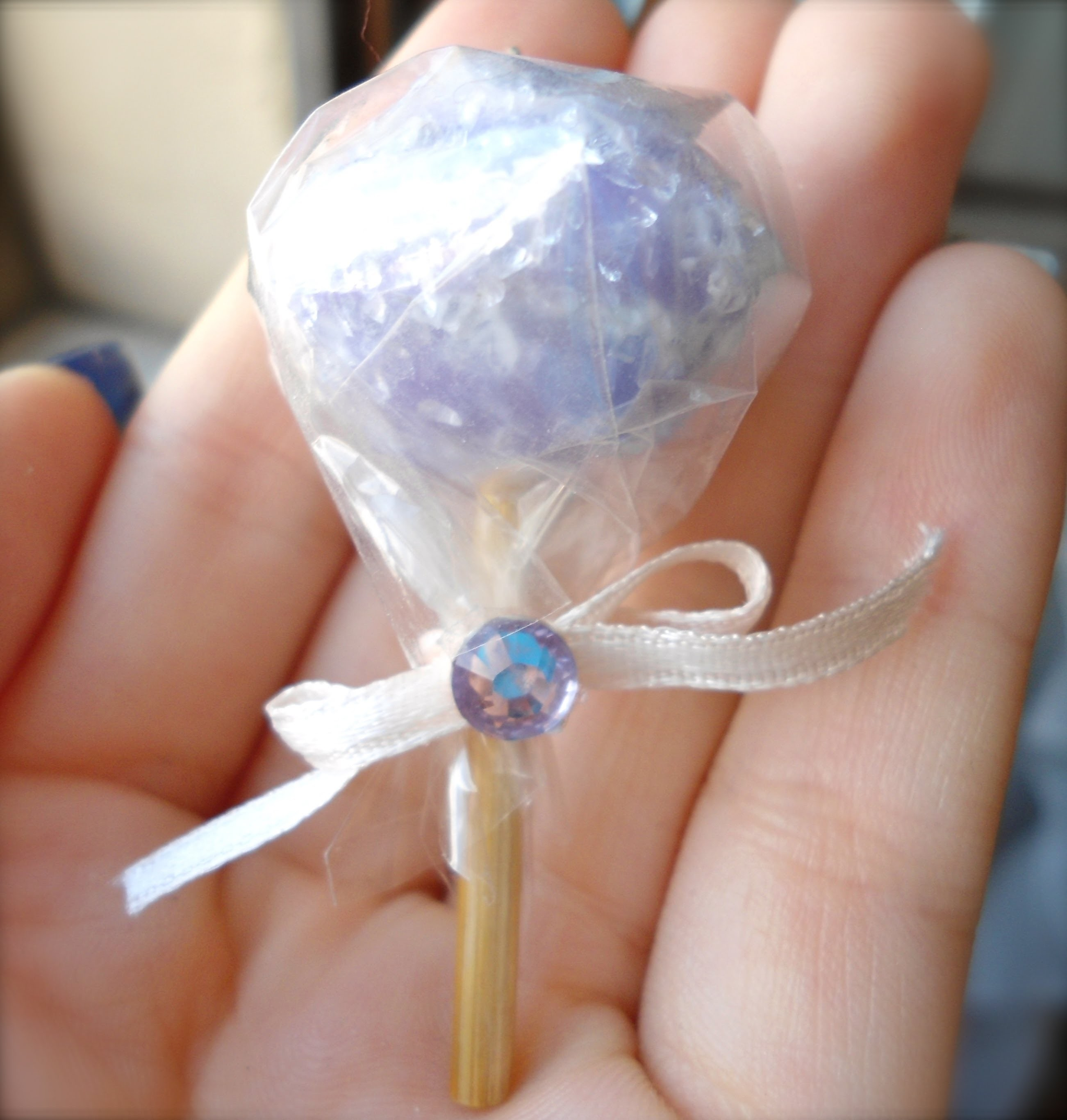 DIY Polymer clay Tutorial Lollipop!