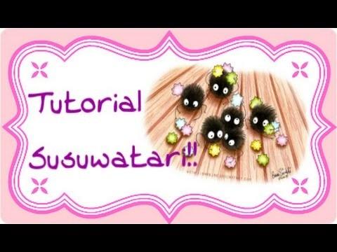 DIY Polymer Clay tutorial: Susuwatari.Nerini del buio!