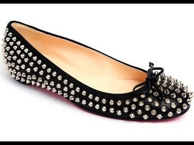 DIY studded ballet - tutorial ballerine borchiate
