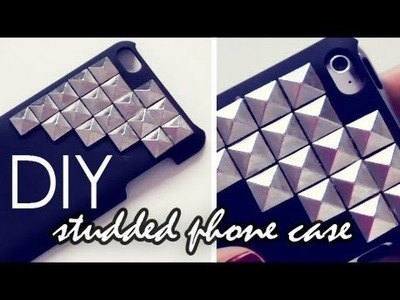 DIY: Studded Phone Case