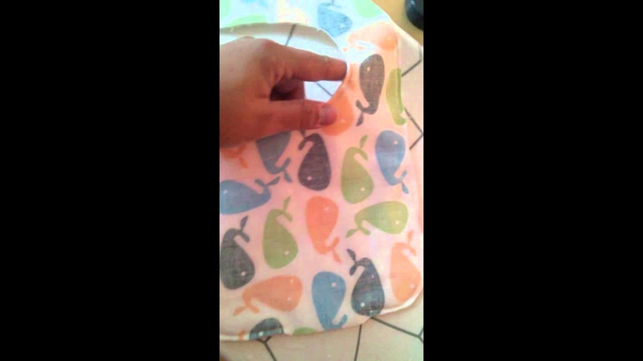 DIY Tutorial Bavaglino Neonato Cucito a mano