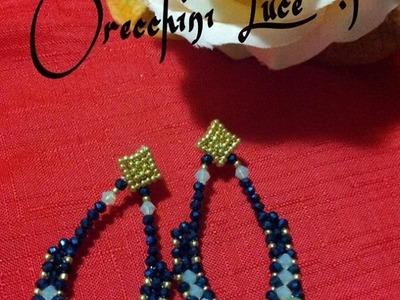 DIY: Tutorial orecchini LUCE ^_^