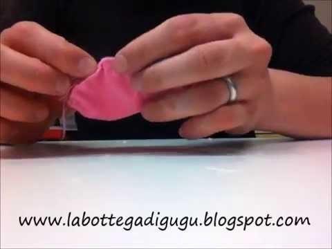 DIY - Tutorial per realizzare macarons dolcetti di pannolenci feltro stoffa (felt food)