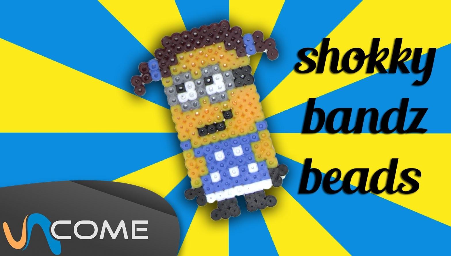 Minion bimba con shokky bandz beads