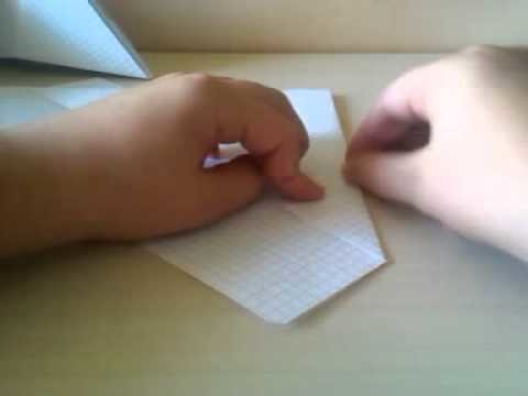 Origami come fare un cappellino