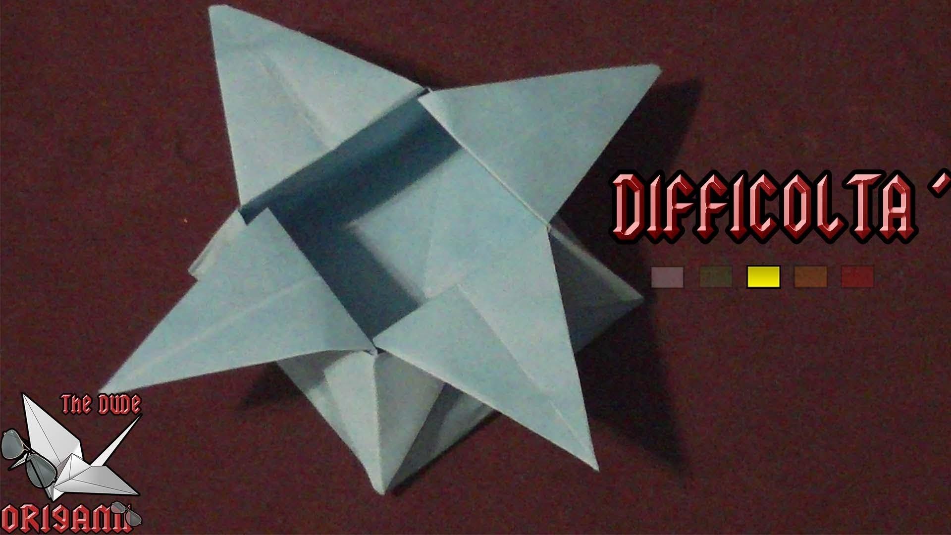 [ORIGAMI ITA] Scatola Stella || Origami Utili