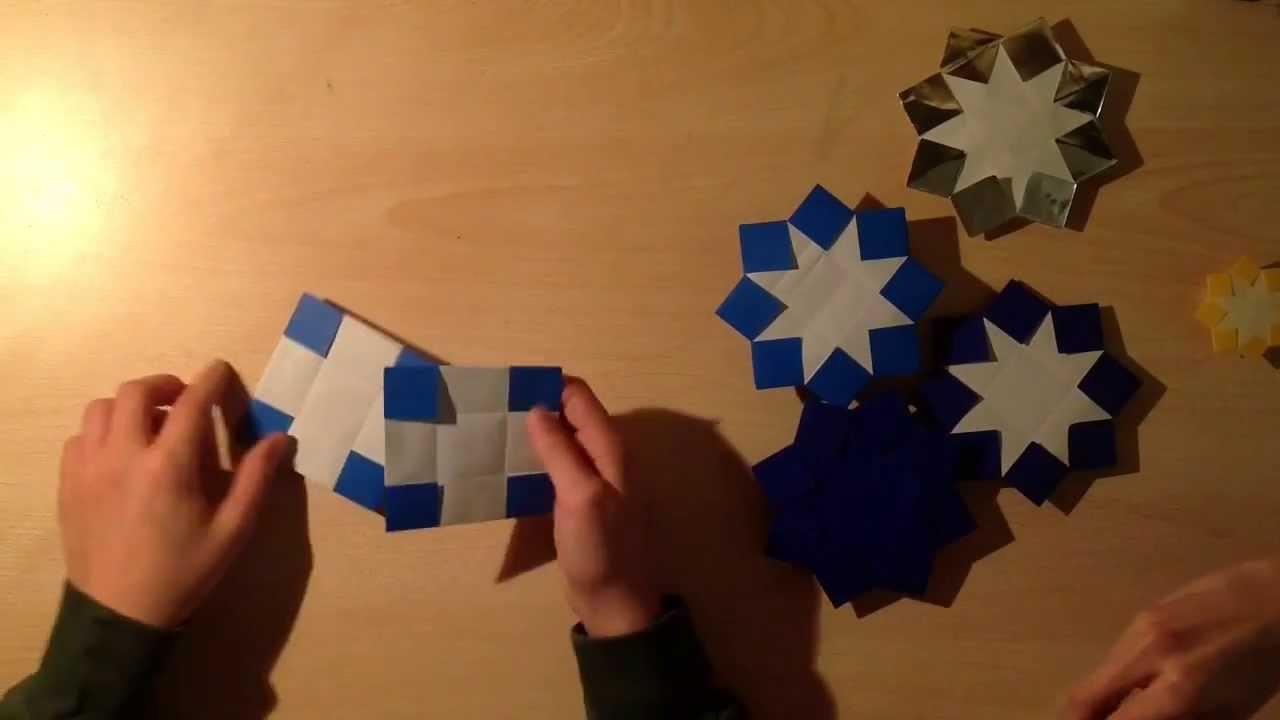 Origami tutorial 06:la stella bimodulare