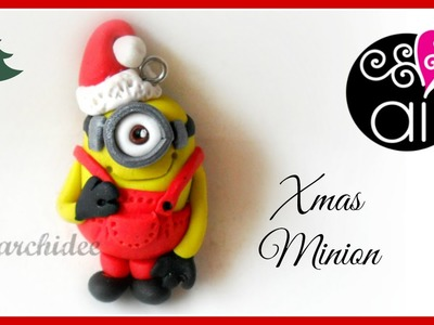 Polymer Clay Tutorial | Christmas Minion | DIY Minion Fimo | Despicable Me | Cattivissimo Me