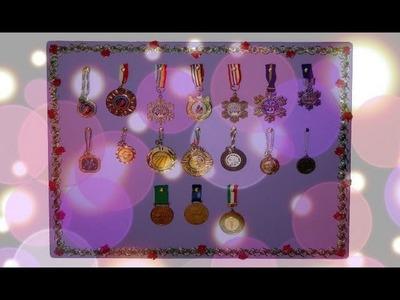 Tutorial 48 • DIY: Porta medaglie - Porta orecchini