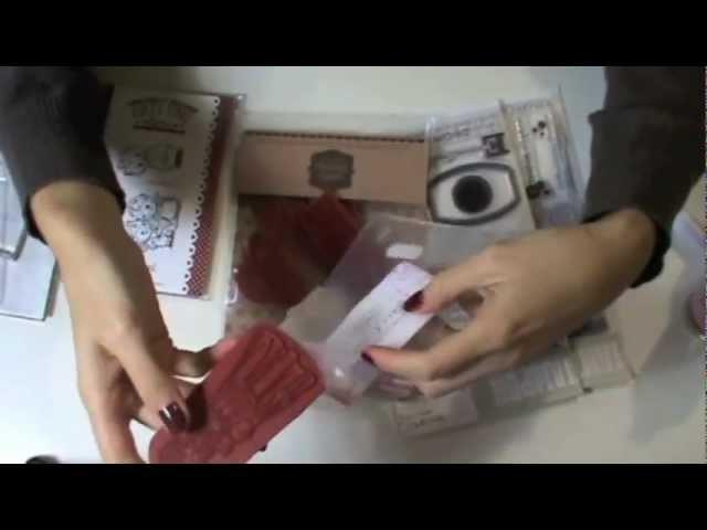 Tutorial Attrezzature Scrapbooking: Timbri (Stamps) - Lartevistadame