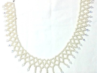 Tutorial | DIY: Collier da Sposa con Tecnica Netted
